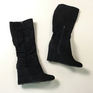 MIA  Black Boots 7 Medium A18:x02002